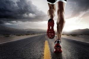 Beinmuskeln Läufer