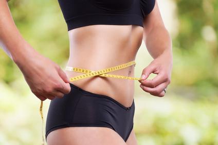 BMI Frau schlank