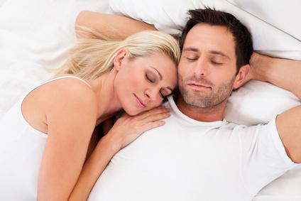 entspanntes Paar