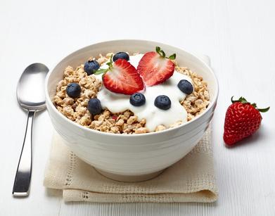 Frühstück Müsli