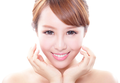 Gesicht gesunde Haut