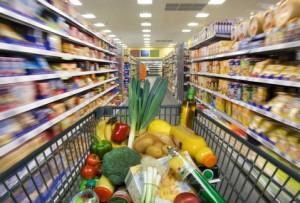 Gesunde Lebenmittel einkaufen