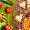 Gesunde und ungesunde Ernährung