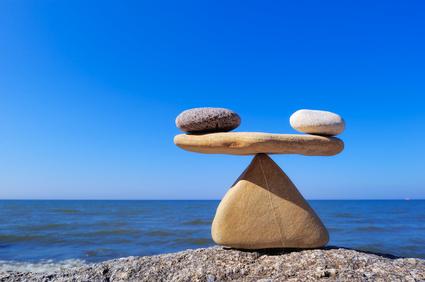 Im Gleichgewicht