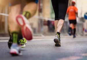 Läufer Muskeln