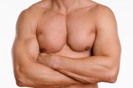 Mann Brust