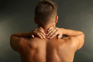 Mann Muskelschmerzen
