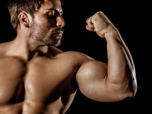 Muskelaufbau mit Protein