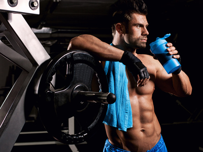 Proteinzusnahem Training
