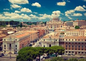 Rom Stadtblick