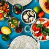 Salate im Sommer