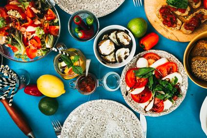 Leichte vegetarische Rezeptideen für den Sommer