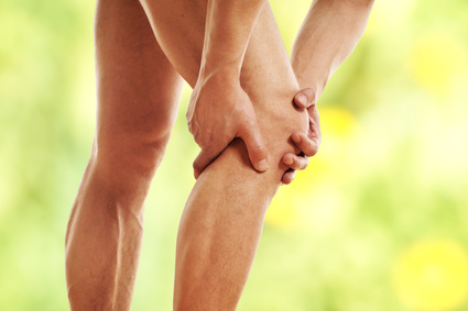 Schmerzen im Kniegelenk