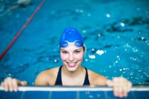 Schwimmen Sportlerin