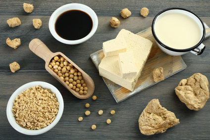 Soja Produkte Milchersatz