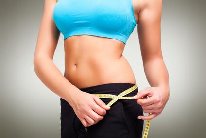 sportlich und schlank