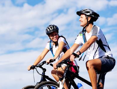 Sportlich Fahrrad