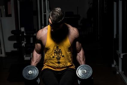 Starker Muskelaufbau