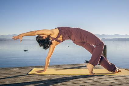 Yoga Frau